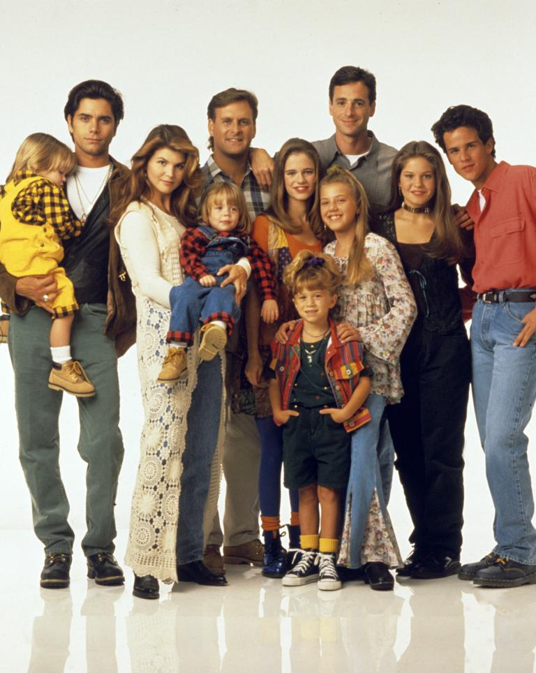 Full House cast celebrate Netflix revival   We can t wait  The cast of Full House in 1993