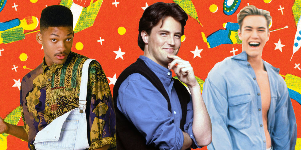 8 fashions from the  90s that we desperately tried to copy  men s     90s outfits  Will Smith  Matthew Perry  Mark Paul Gosselaar