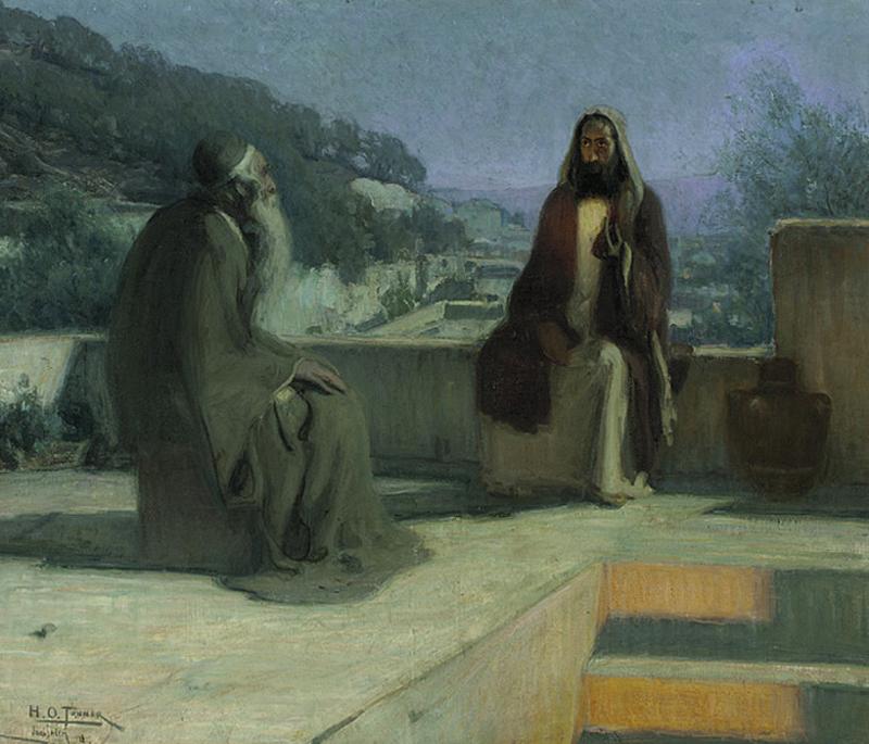 Nicodemus Born Spirit