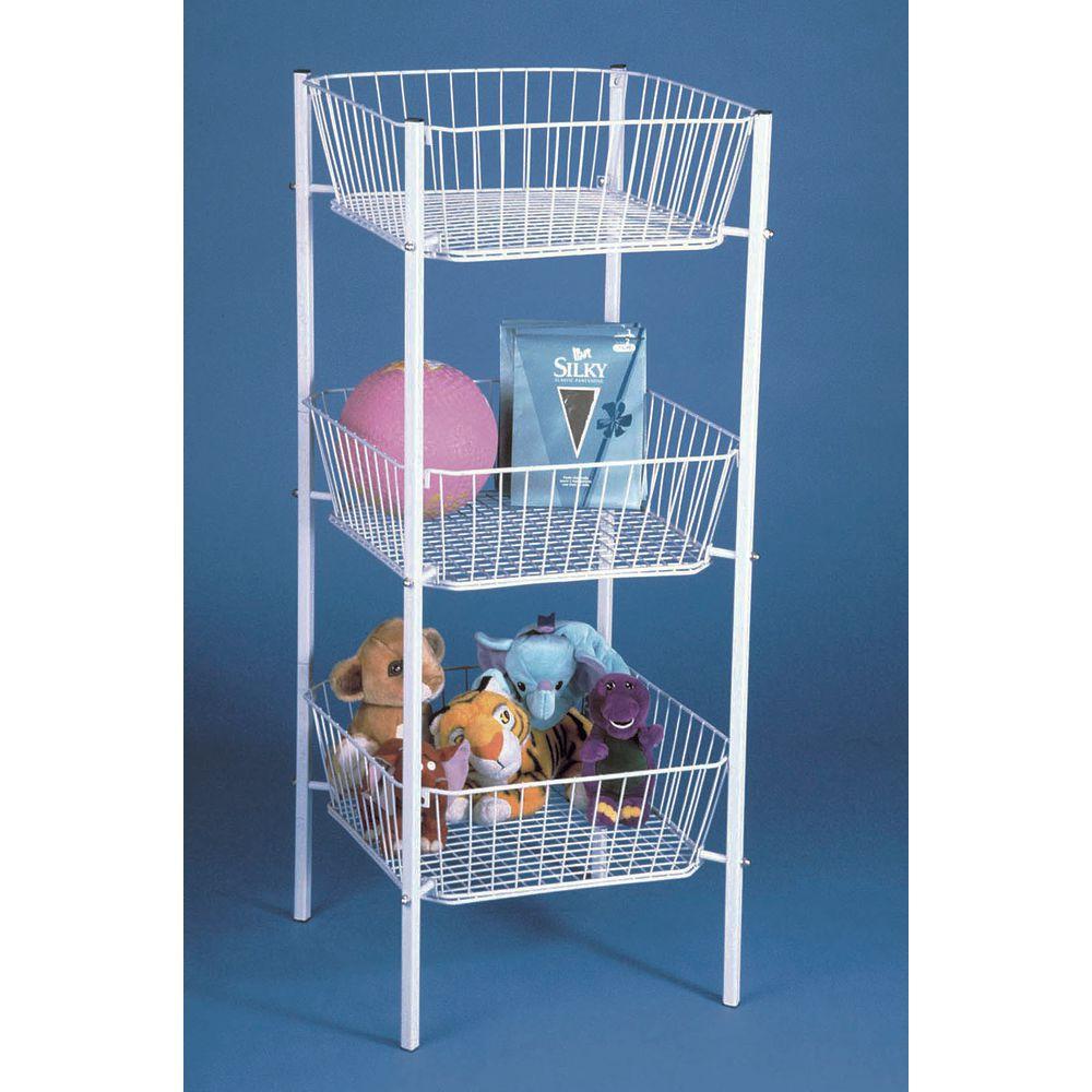 Floor 3 Tier Produce Baskets