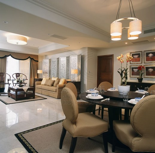 L Shaped Dining   Living Room Decorating     Think Cleverly
