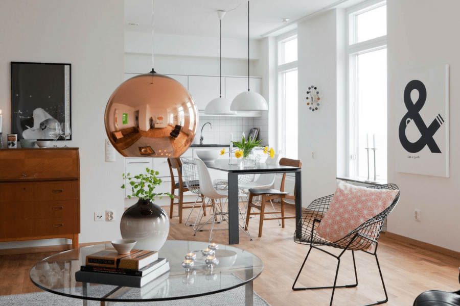 Trends 2018  Copper Home Accessories for Your Dining Room Decor     Trends 2018  Copper Home Accessories for Your Dining Room Decor     Dining  Room Lighting