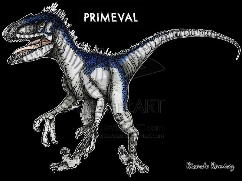 deinonychus primeval movie - 800×600