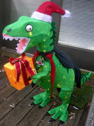 86  Home Depot Christmas Decor   156 Best Christmas Decorations     Dinosaur Christmas Decoration Home Depot