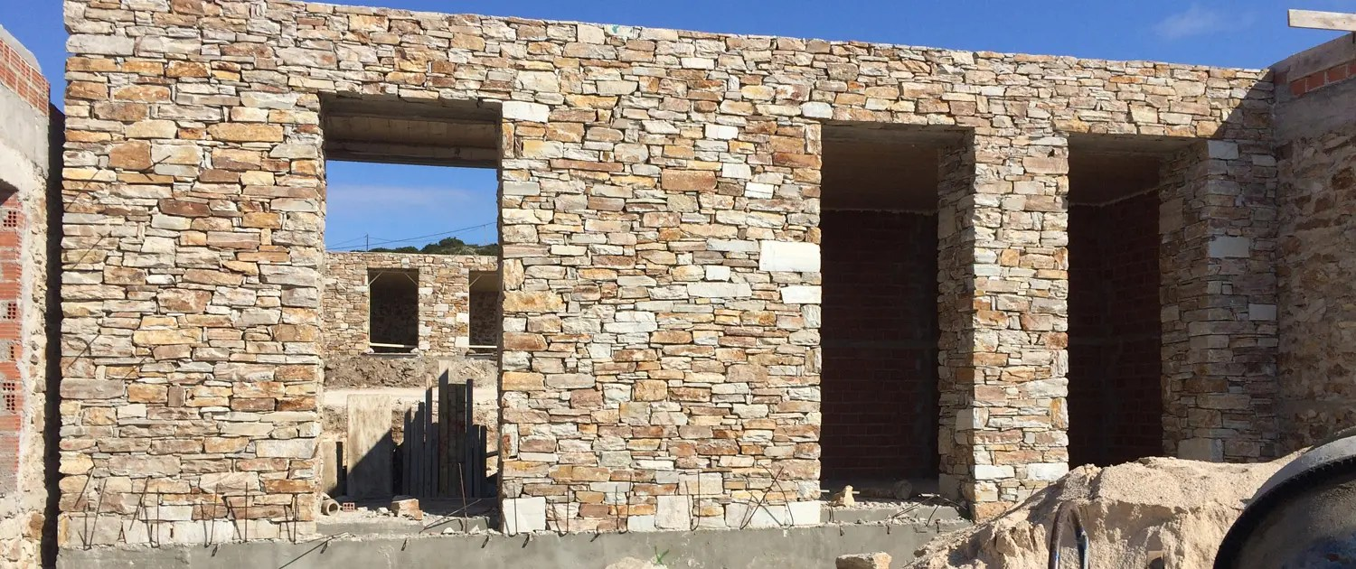 Stone Masonry Construction And Building Paros Island