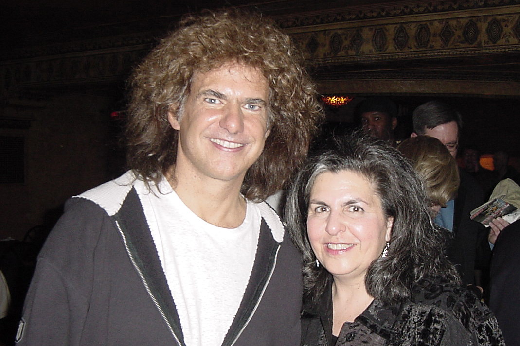 Pat Metheny And His Wife