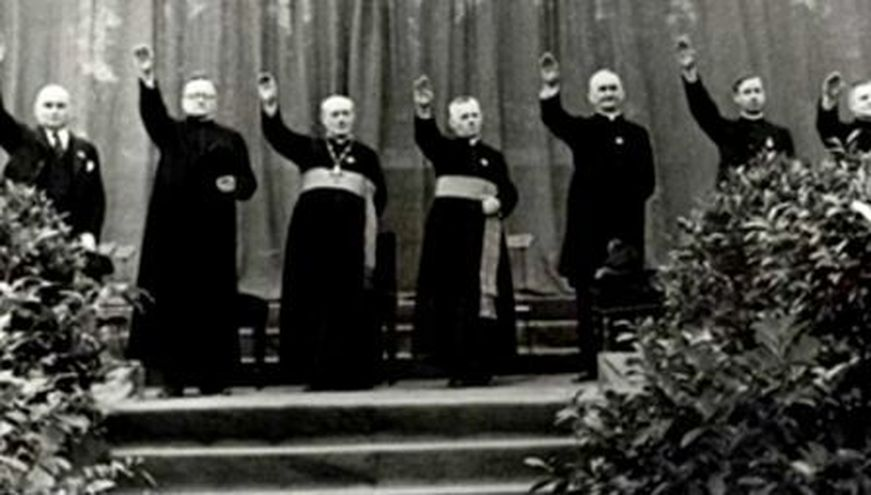 Catholic-Nazi-salute