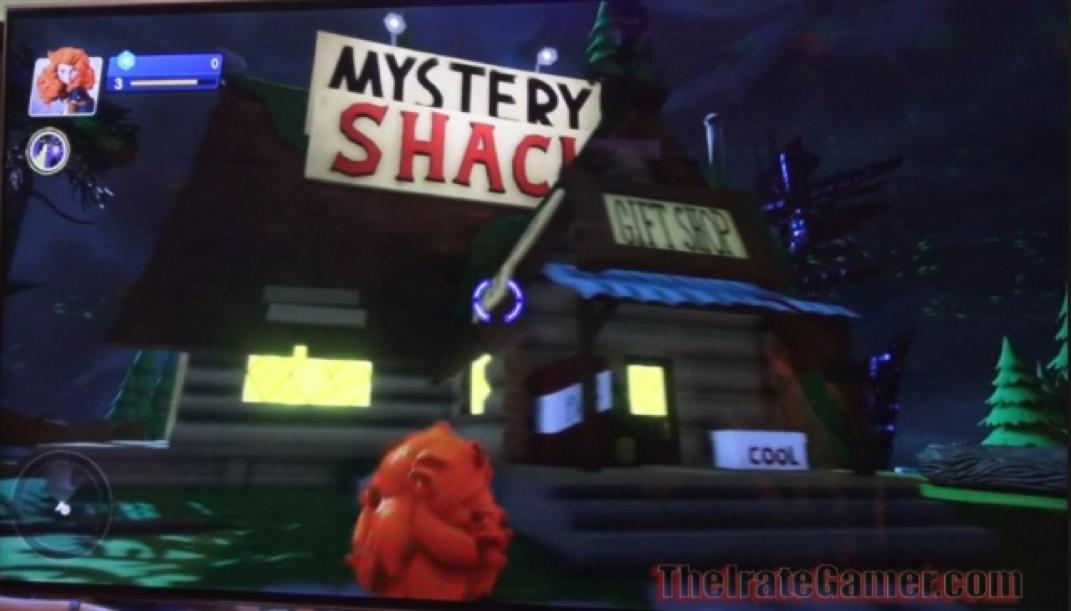 Side Mystery Falls Shack Gravity