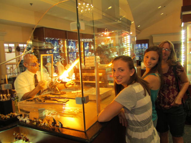 Crystal Arts By Arribas Brothers Downtown Disney Vacation