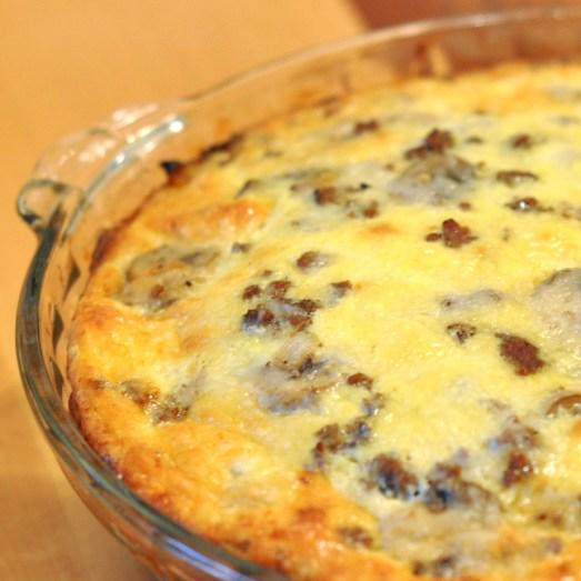 Recipe Mushroom And Swiss Cheeseburger Pie