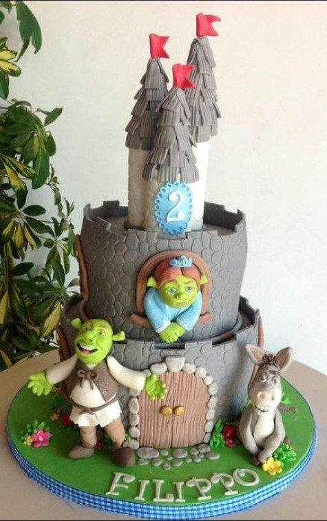 Shrek Gingerbread House