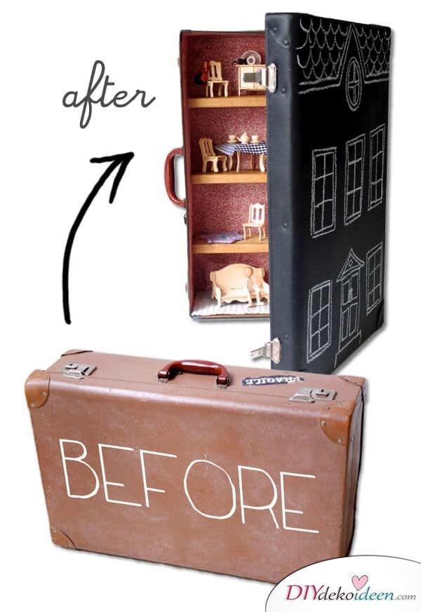 5 unglaubliche Ideen, wie du aus einem Koffer etwas Tolles zaubern