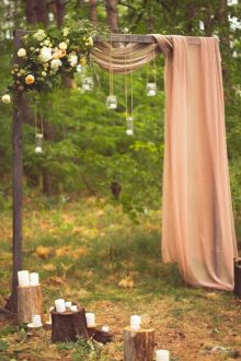 20 Easy DIY Floral Wedding Arch Decorations Sweet and Simple Arch