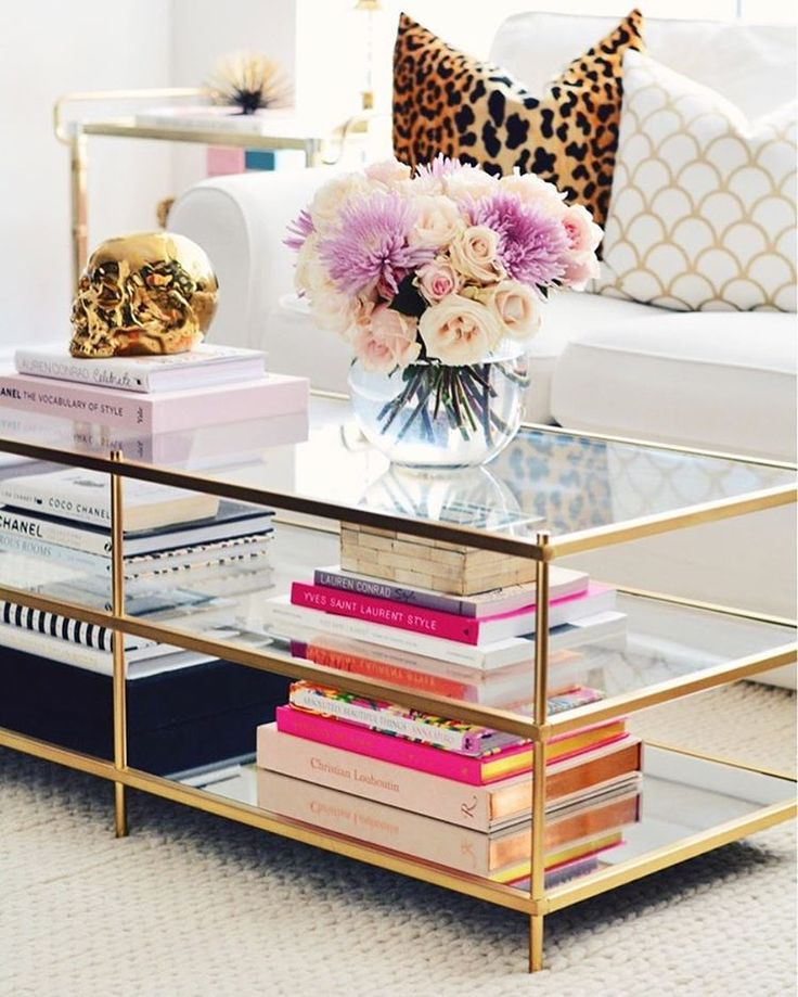 Sprucing Up Your Living Room with Coffee Table Decor Ideas   DIY     Glass Coffee Table Decorating Ideas
