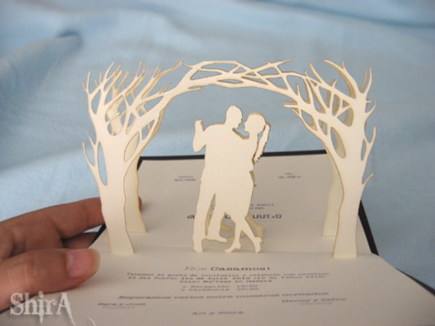 Rustic Wedding Invitation Tutorial