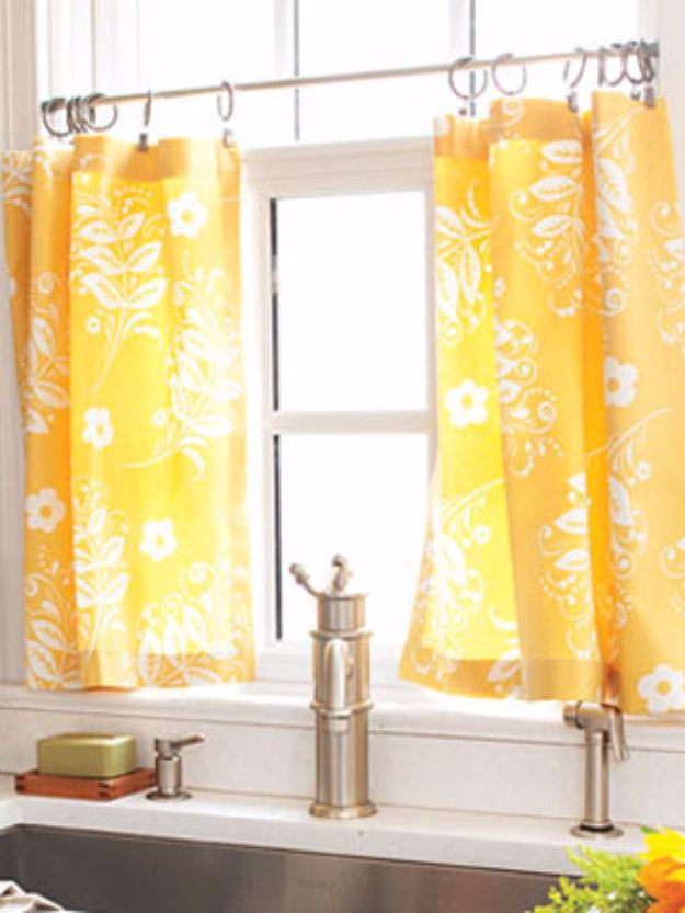 Tension Rod Curtain Rod Make