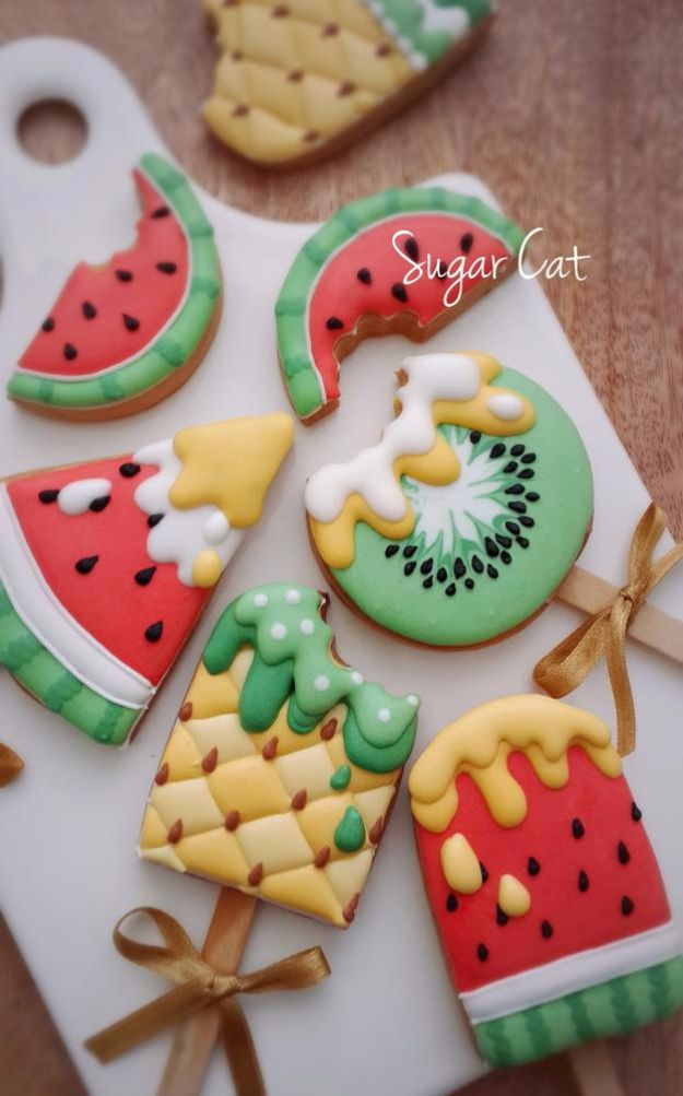 40 Easy Cookie Decorating Ideas Cool Cookie Decorating Ideas   Summer Ice Cream Cookies   Easy Ways To  Decorate Cute