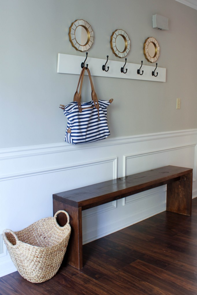 Entryway Bench Plans Amp Tutorial Erin Spain
