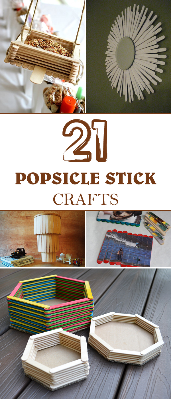 Sticks Popsicle Using Projects