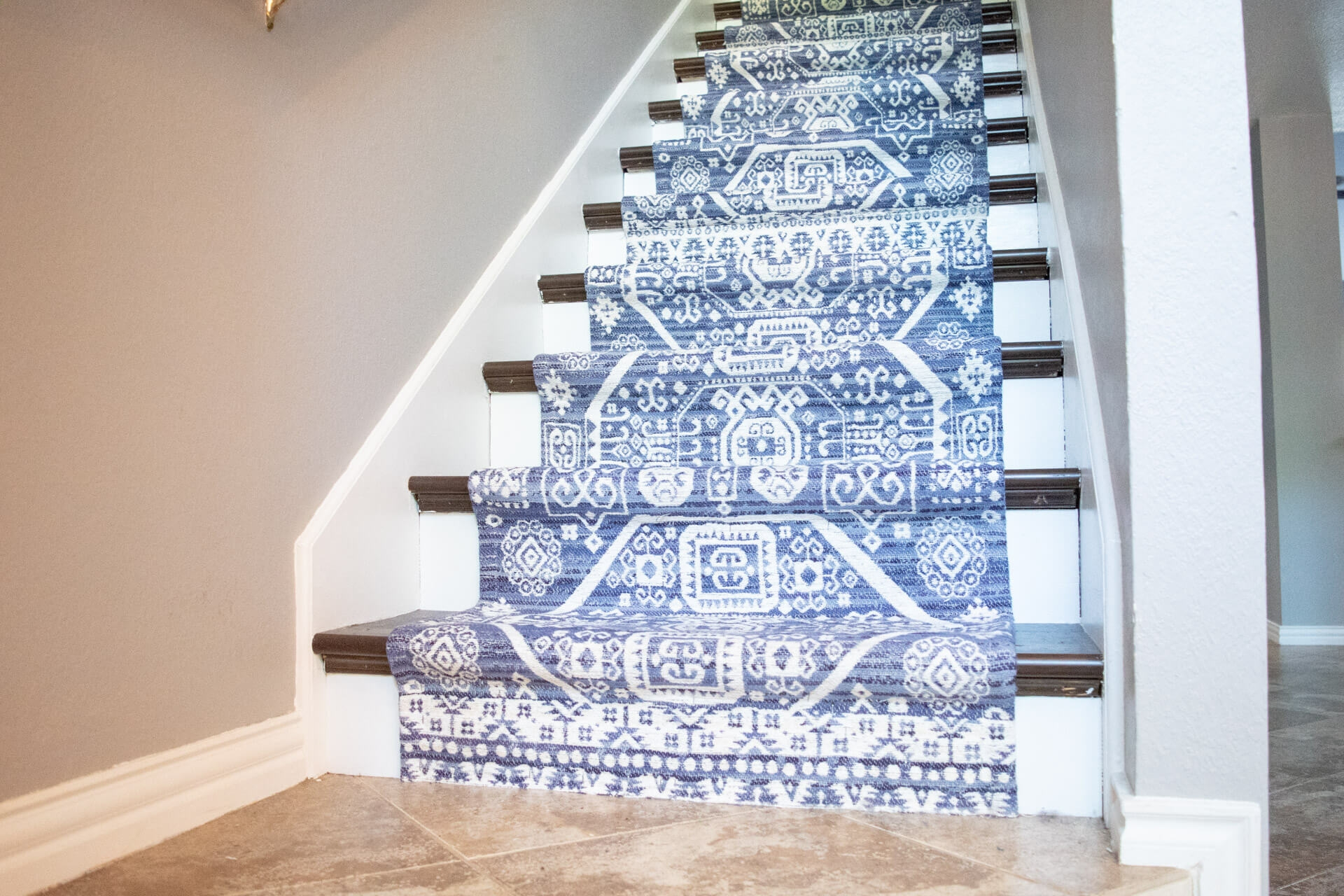 How To Install Hardwood Flooring On Stairs With Nosing » Diy | Installing Hardwood Stairs Over Existing Stairs | Prefinished Stair | Stair Tread Caps | Carpeted Stairs | Wood Flooring | Treads