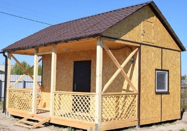 Rumah bengkok satu lantai