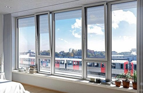 UPVC Combination Windows Design