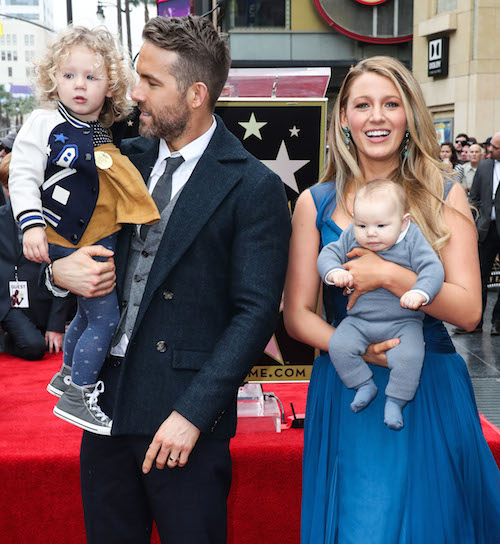 Dlisted   Ryan Reynolds And Blake Lively's Second Kid Has ...
