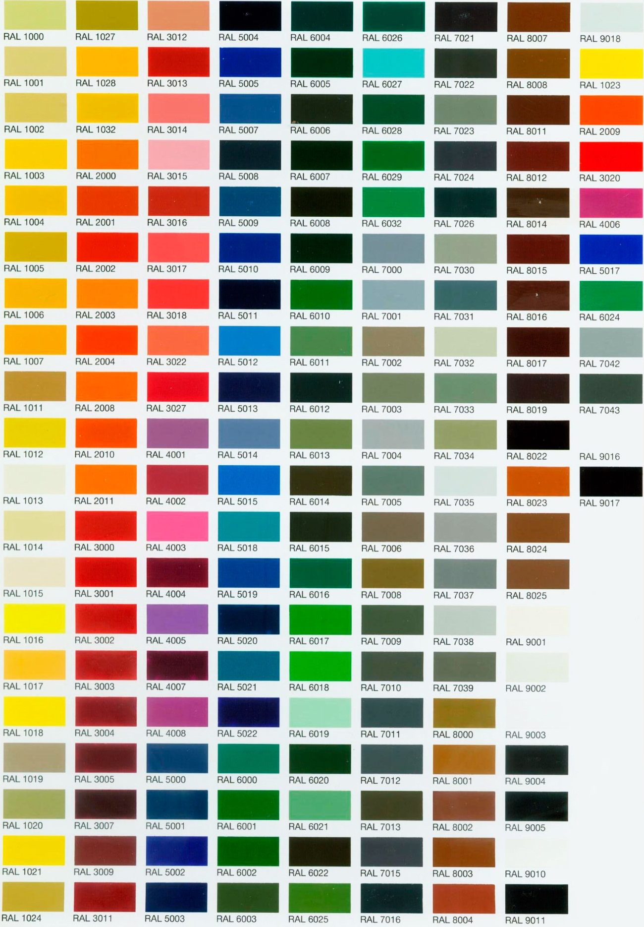 Ral color chart images free any chart examples ral munsell color chart images free any chart examples ral color chart purchase gallery free any nvjuhfo Image collections