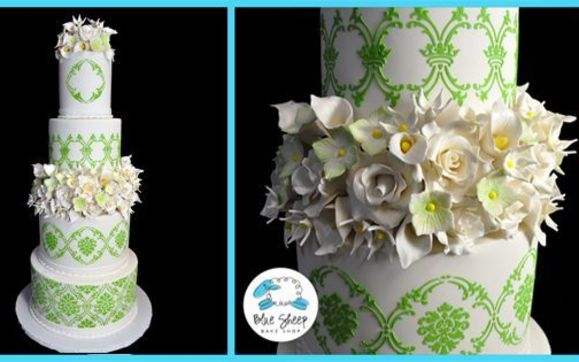 Wedding Cakes by Blue Sheep Bake Shop   Somerville  Green Brook     Contact Blue Sheep Bake Shop   Somerville  Green Brook    Metuchen NJ