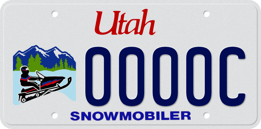 Snowmobile License Utah
