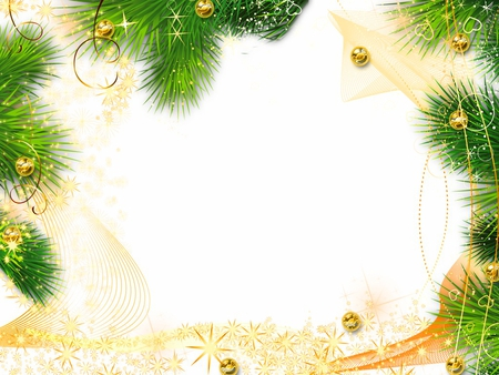Background New Year Border     Merry Christmas And Happy New Year 2018 background new year border