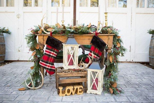 Country Christmas Wedding