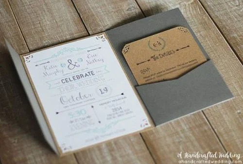 How Make Save Date Cards Yourself