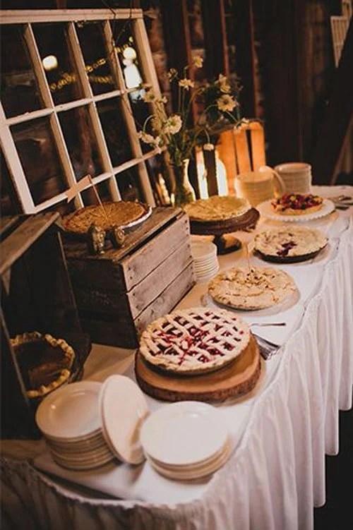 Fall Wedding Treats