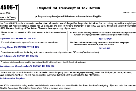 Free Forms 2018 Tax Transcript Form Number Free Forms
