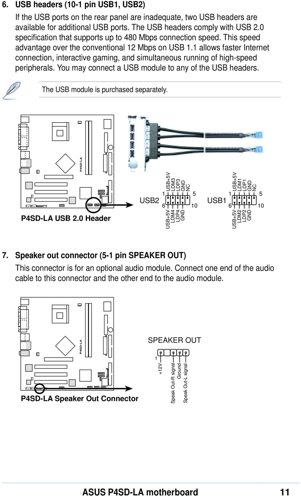 Hp Motherboard Front Panel Connectors