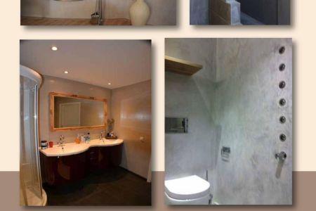 Huis inrichten 2019 » gladde wandafwerking badkamer | Huis inrichten