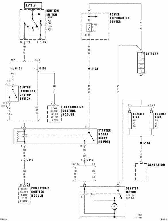 2002 Dodge Stratus Ecm Diagram