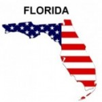 USA State Map Florida