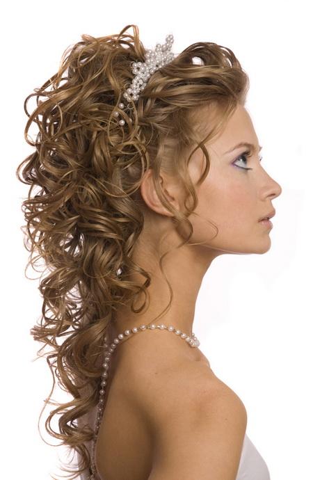 Peinados De Fiesta Con Pelo Rizado Gallery Of Una Versin
