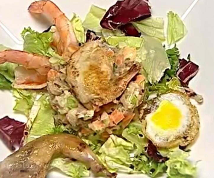 Дәмді салат Оливье - Нағыз француз рецепті