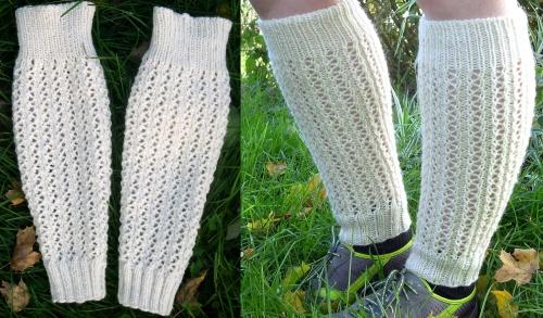 Leggings d'open-up tricotés