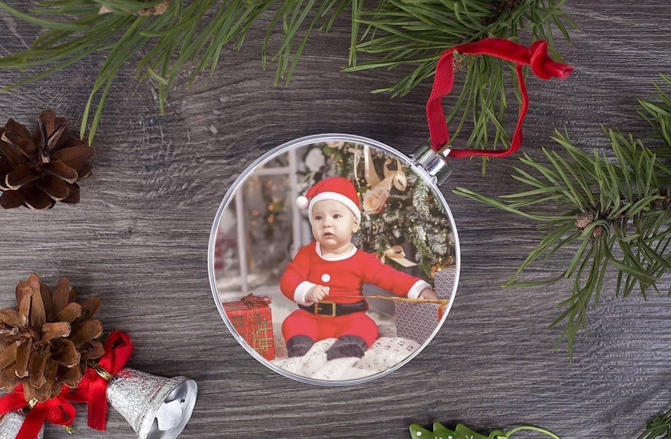 Mainan pokok Krismas dengan foto - idea yang menarik yang perlu dilakukan dengan orang dewasa dan kanak-kanak
