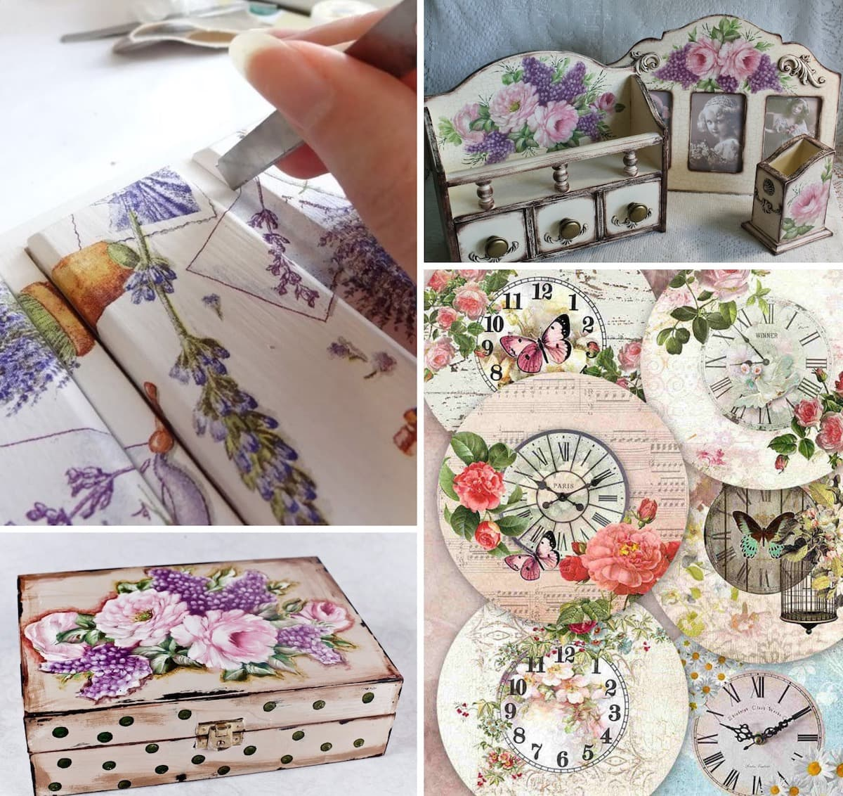 Decorating and decorating your favorite things with your own hands