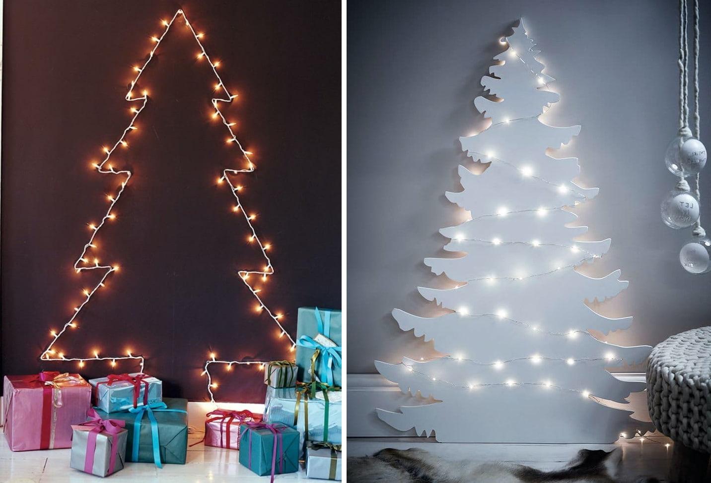 Vytvořit atmosféru novoroční dovolené, koupit živého stromu vůbec