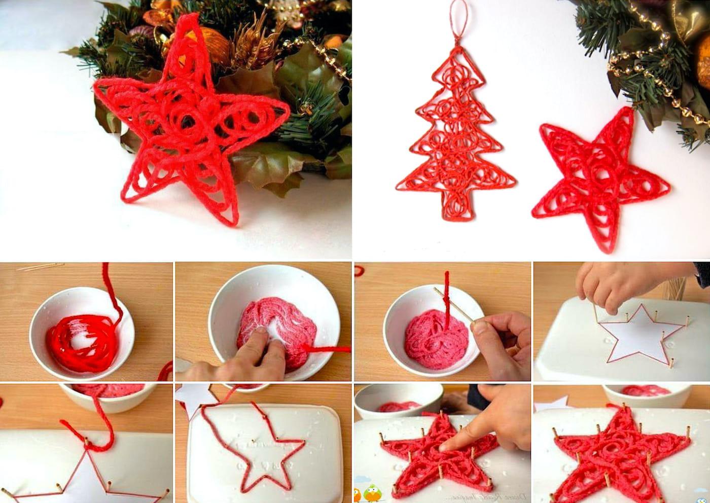 Podobná dekorace může být použita nejen pro ozdobení vánočního stromu