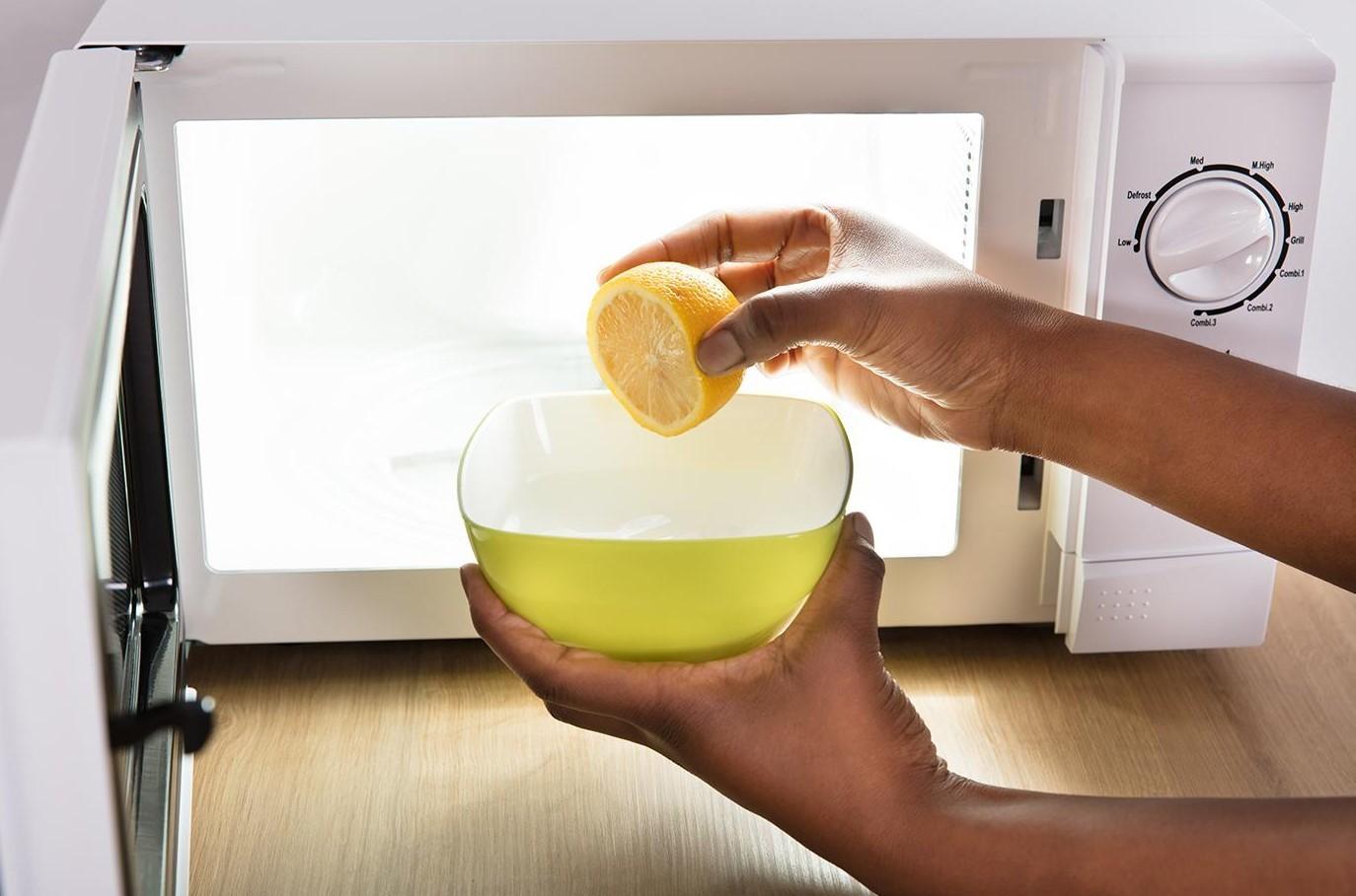 Микротолқынды тазартқыш лимон шырыны