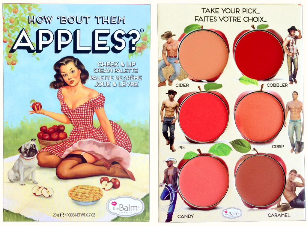 Cheek and lips cream palette di The Balm