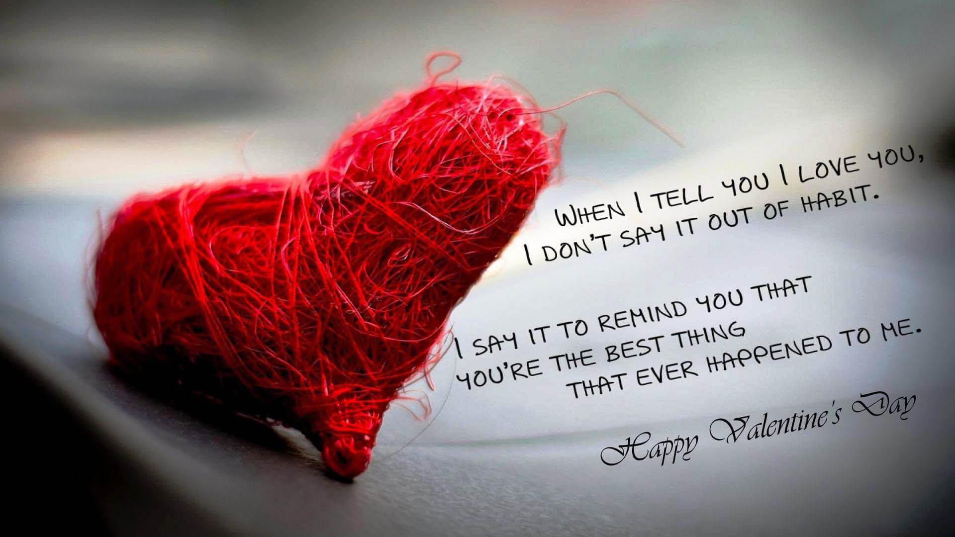 happy valentines day quotes and sms
