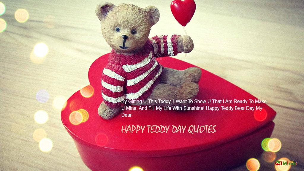 teddy day image